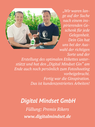 Digital Mindset Gin