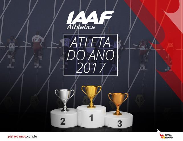 Está aberta a votação para o Prêmio de Atleta do Ano da IAAF