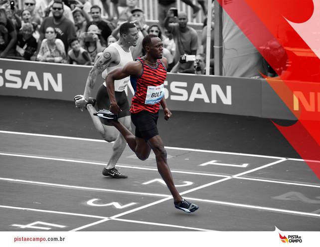 Última chance de ver Bolt em ação