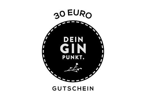 Gutschein 30,- €