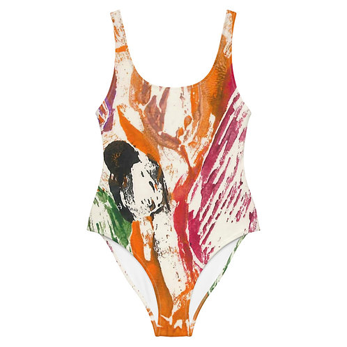 Scratch One-Piece Swimsuit