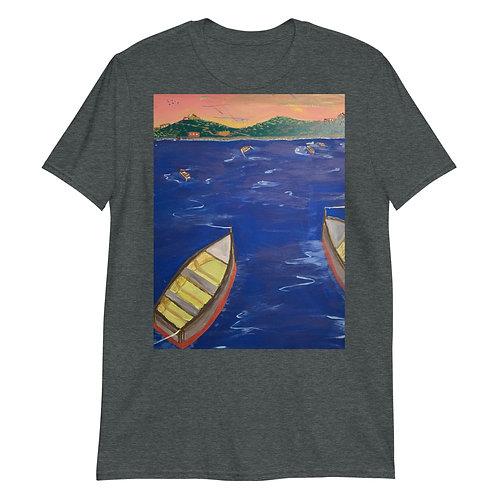 Fishing Short-Sleeve Unisex T-Shirt