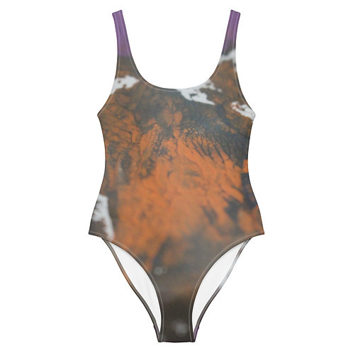 Hypnocurrency One-Piece Swimsuit