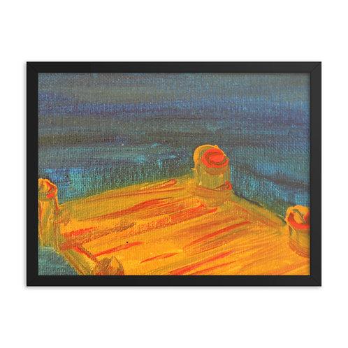 Dock Framed poster