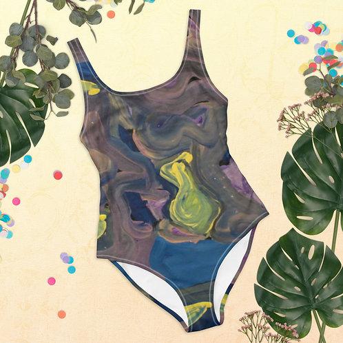 Hyperactive One-Piece Swimsuit