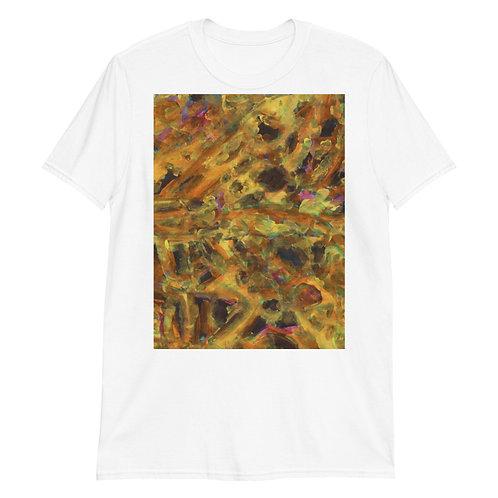Mustard Short-Sleeve Unisex T-Shirt