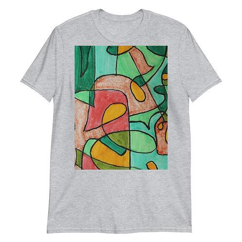 Swirls Short-Sleeve Unisex T-Shirt