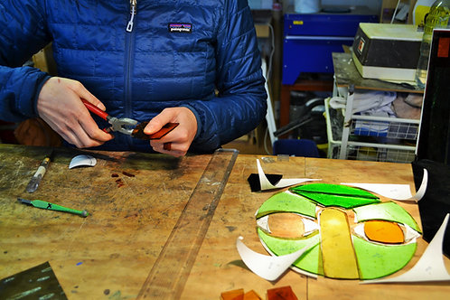 STAINED GLASS INTRO - 6 Week Course. Tuesdays 6-8.30pm