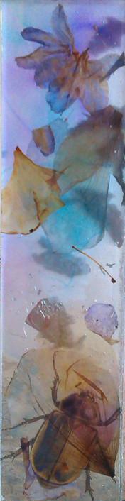 Laminated block. Botanic Glass.