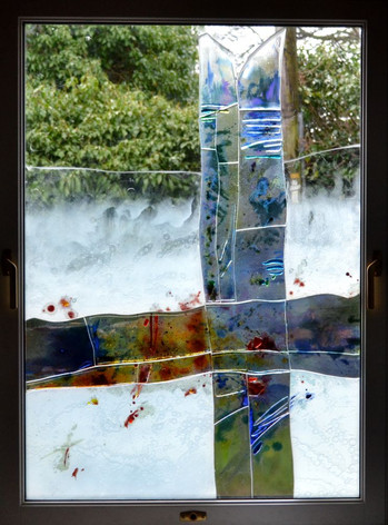 Modern architectural glass. Inveresk
