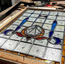 Stained glass repairs Edinburgh Glass La