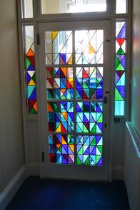 """""""Music"""" Panelled door for a door entrance. Edinburgh"""