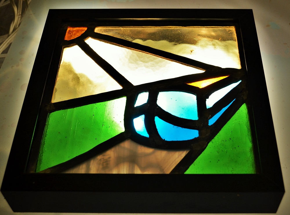 By Paul. January 2016. David Mola  Stained glass Workshop for beginners..jpg