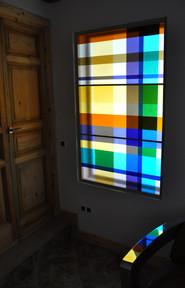 David Mola. Fused  window