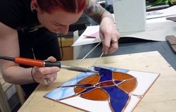 Begginers stained glass course_ Sarah_2013