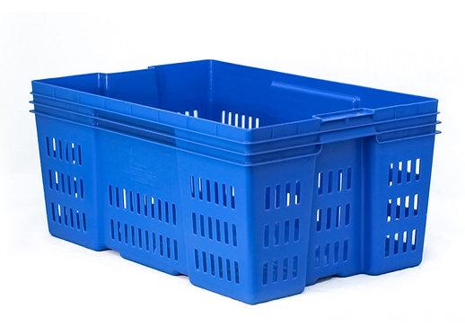Caja de Plastico Montreal Calada 28 60cm x 40cm x 28cm