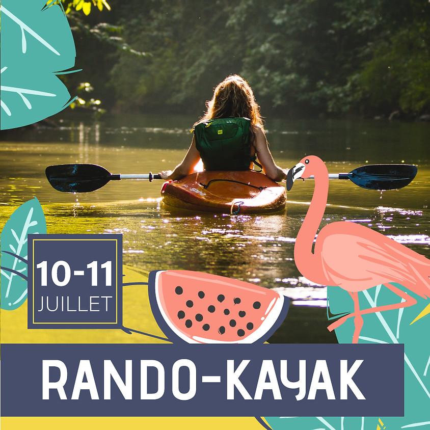 Rando-Kayak-Bivouac (résidentiel avec MJ Bastogne)