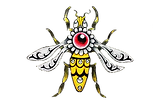 queen bee gold  png no back ground.png