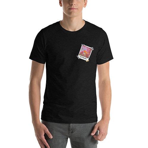 Art Teacher Paint Sink Polaroid - Short-Sleeve Unisex T-Shirt