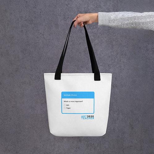 Wifi or Paper? Tote bag