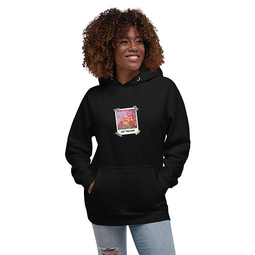 Art Teacher Paint Sink Polaroid - Unisex Hoodie