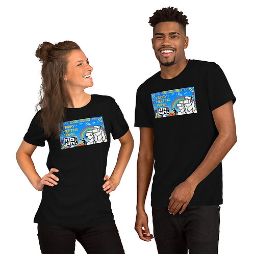 Friday Meeting Mania! Short-Sleeve Unisex T-Shirt