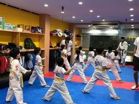少年部の練習風景です。