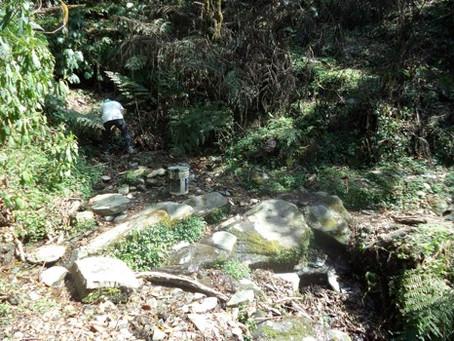 Adduction d'eau à Lapu 1ère journée de chantier
