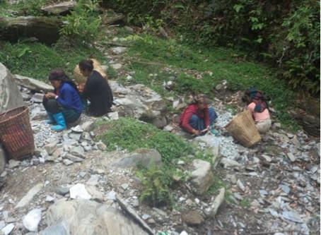 Adduction d'eau à Lapu: 2ème jour