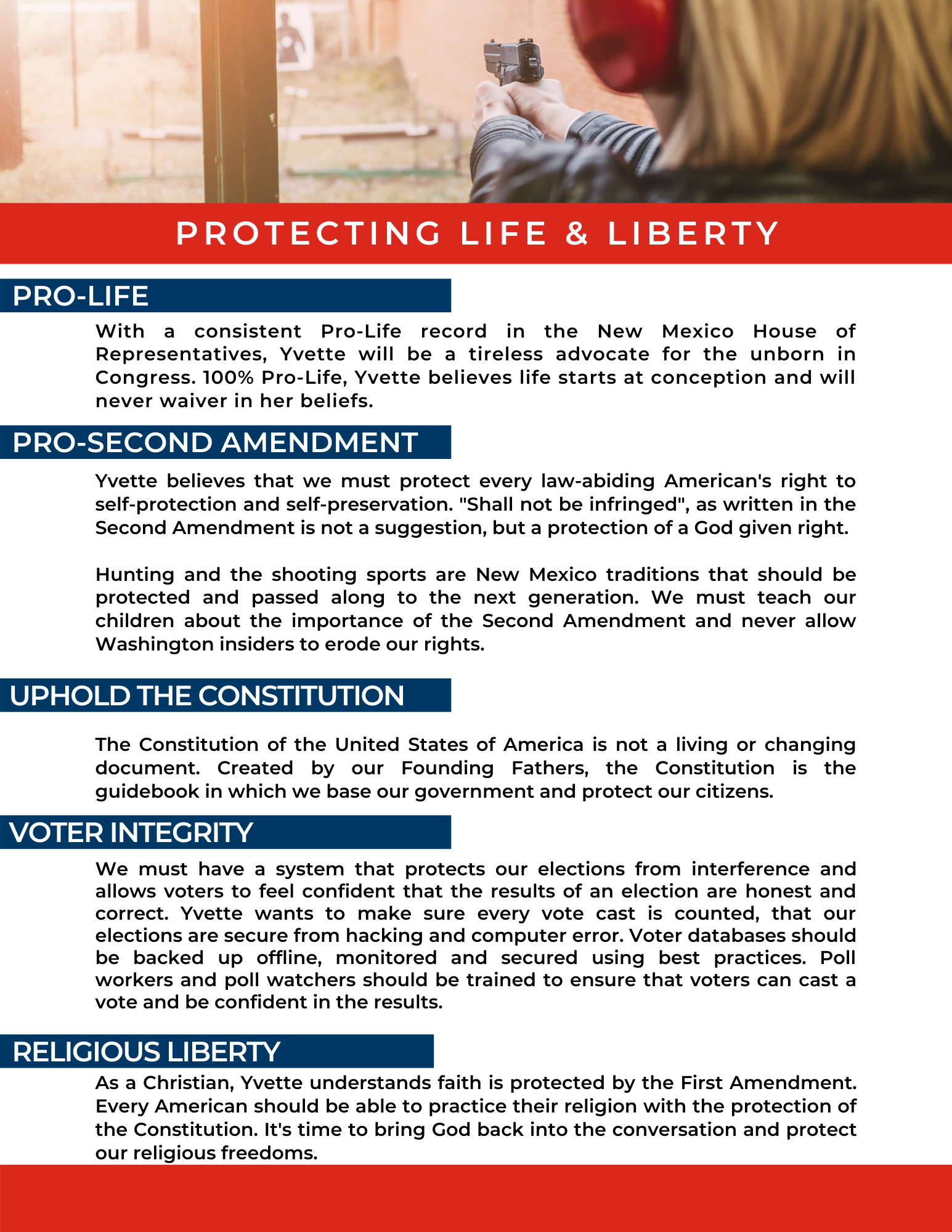 Protecting Life & Liberty