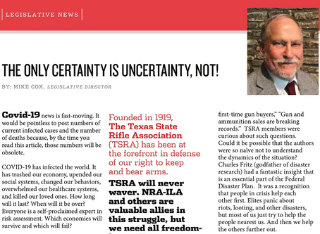 The Only Certainty is Uncertainty, Not!