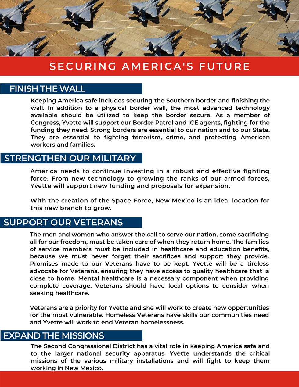 Securing America's Future