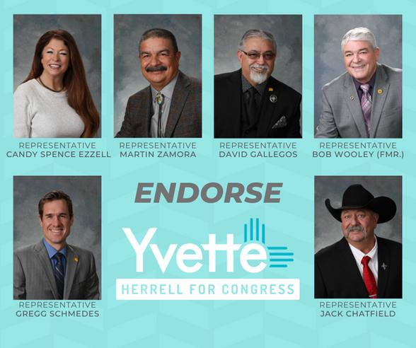Yvette: Legislators