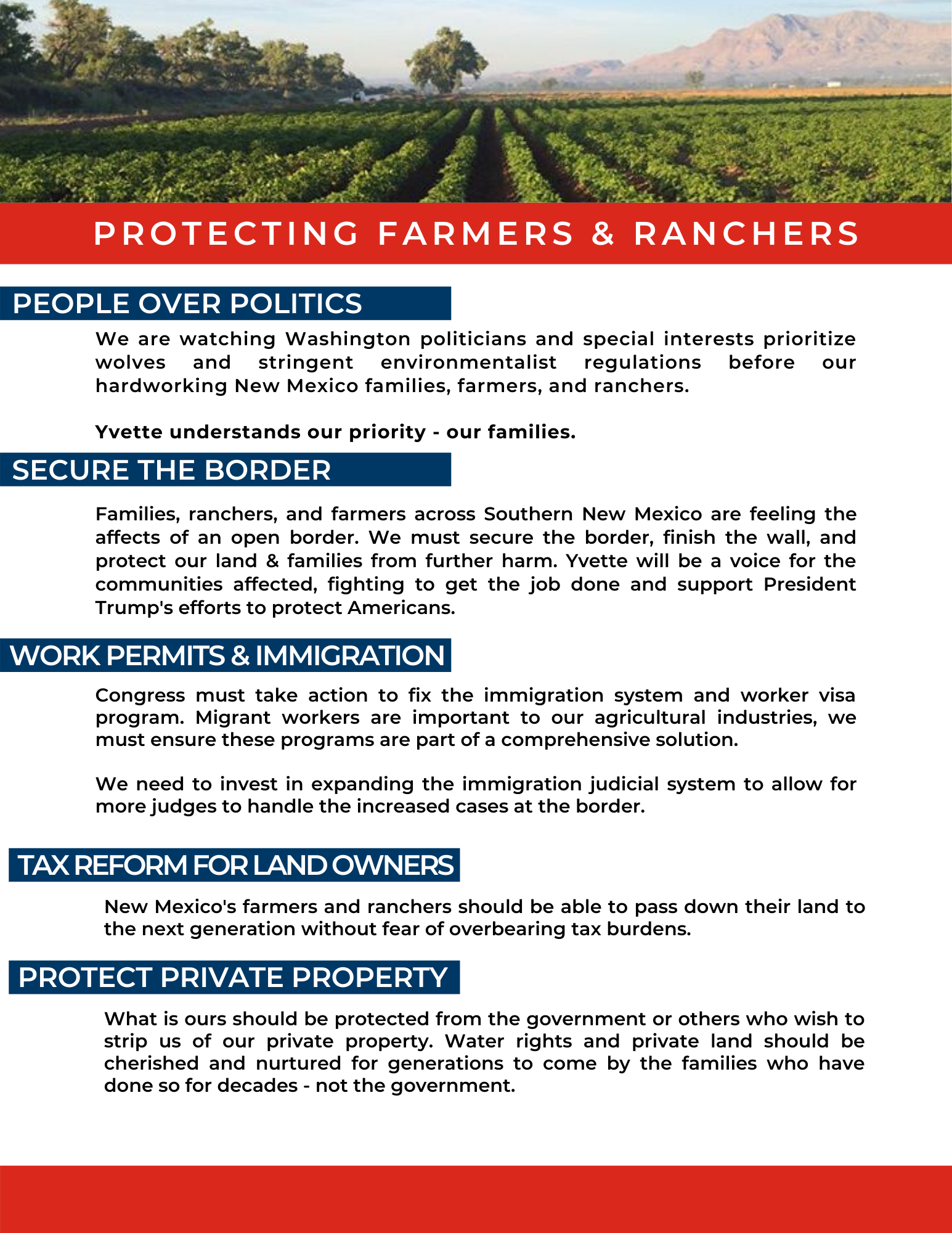 Protecting Farmers & Ranchers
