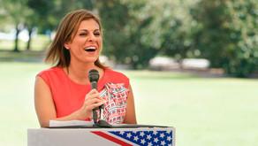 Amanda Makki hits back after Trump endorsement of campaign rival