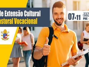 Curso de Extensão Cultural em Pastoral Vocacional