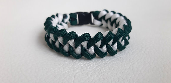 Survival Fashion - Green-White