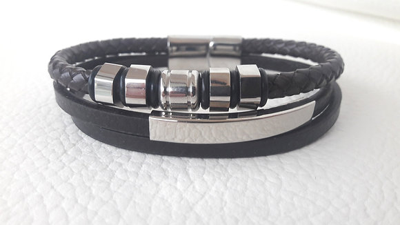 Trippled Brown Bracelet