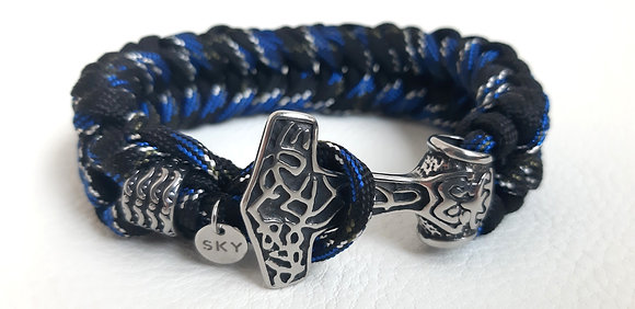 Noor Black-Blue