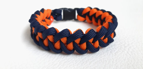 Survival Fashion - navy blue-orange