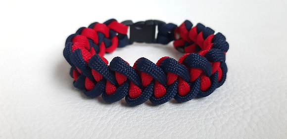 Survival Fashion - navy blue-red