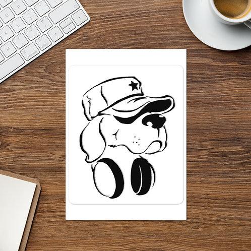Raw Dog Sticker sheet