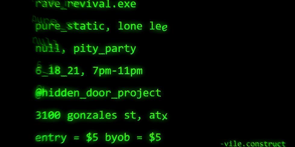 RAVE REVIVAL x VILE CONSTRUCT
