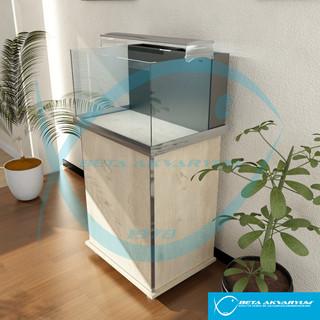 Mobilyalı Nano Akvaryum