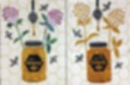 Heidi Proffetty Artist, Is She Ready Yet?, Heidi Proffetty Products, Heidi Proffetty Art, Sweet Honey Wall Quilt