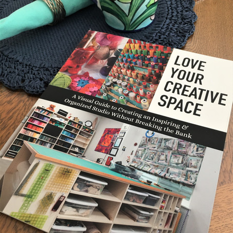 "Welcome to Day 3 of the ""Love Your Creative Space"" Book Tour"