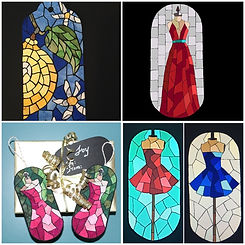 Heidi Proffetty Artist, Is She Ready Yet?, Heidi Proffetty Products, Heidi Proffetty Art, Mosaic Gift Tags
