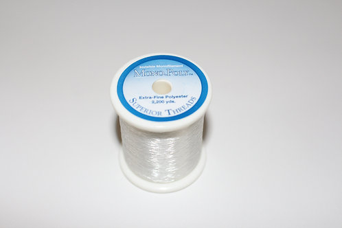MonoPoly Clear Spool by Superior Threads