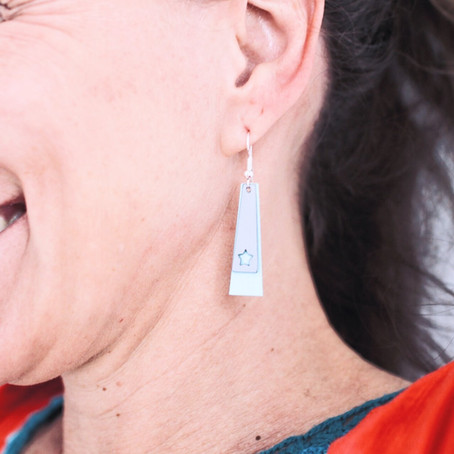 First Janome Maker Project - Stylish Earrings with your Edge Digital Cutter