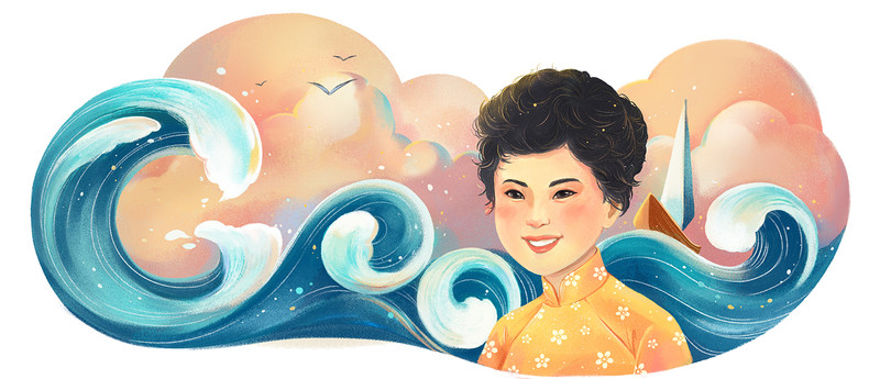 GOOGLE DOODLE - XUAN QUYNH'S BIRTHDAY
